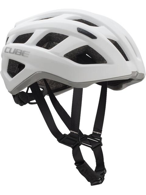 Cube Roadrace Pyöräilykypärä , harmaa/valkoinen